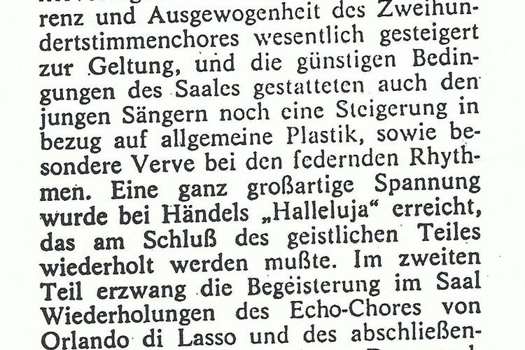 Rezension Dolomiten 01.06.1968