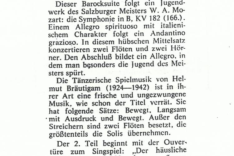 Rezension Dolomiten 11.10.1967