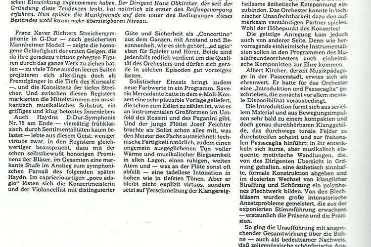 Rezension Dolomiten 11.12.1984