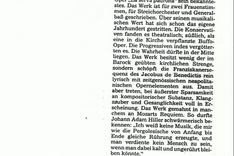 Rezension Dolomiten 16.04.1983