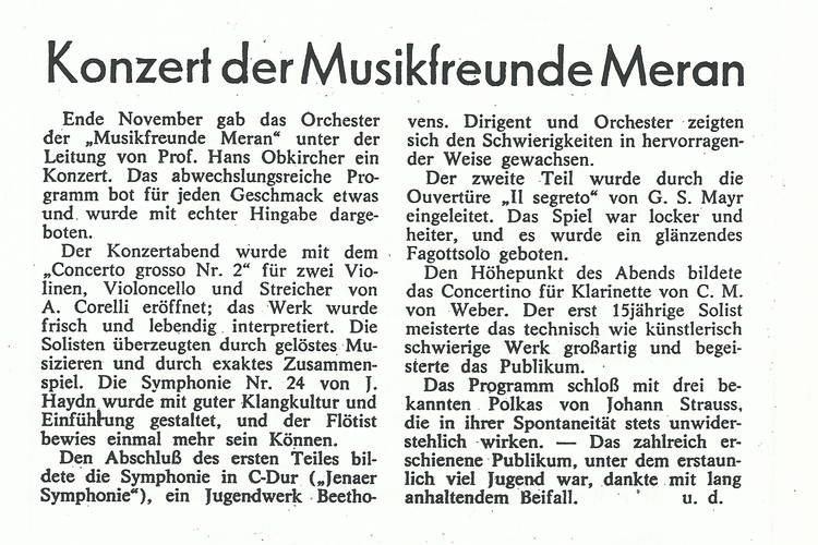 Rezension Dolomiten 17.12.1977