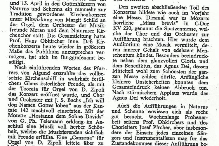 Rezension Dolomiten 20.04.1980