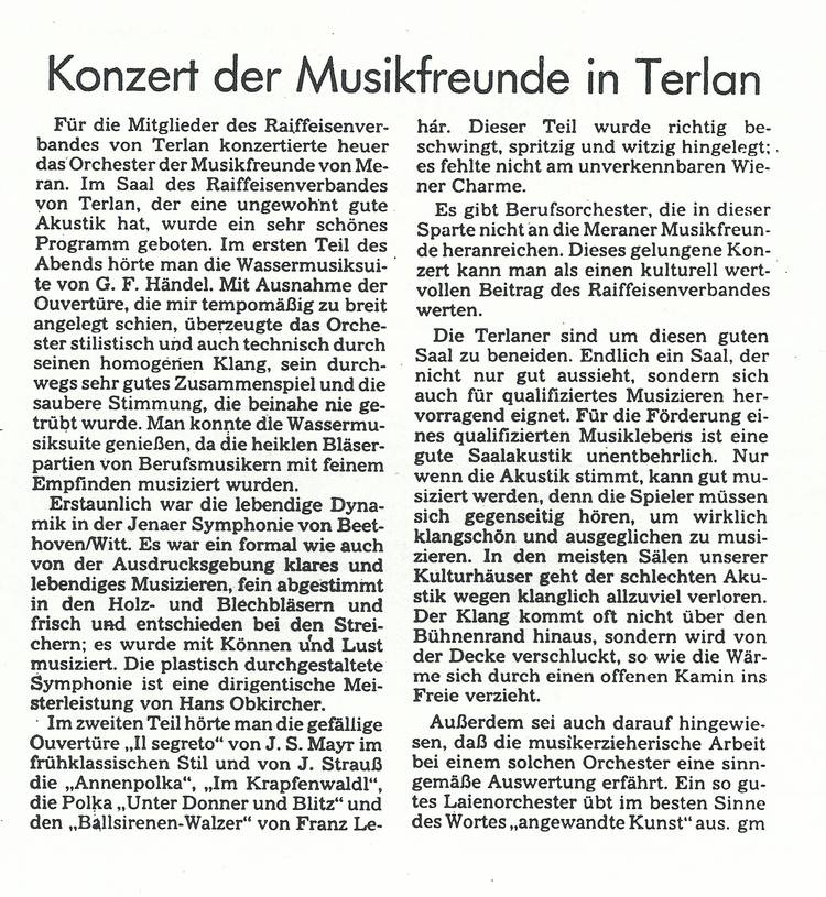 Rezension Dolomiten 22.11.1983