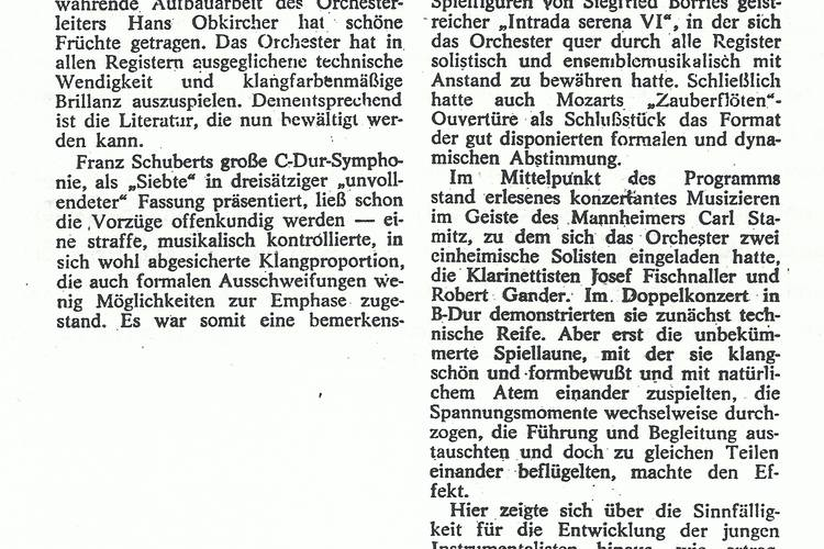 Rezension Dolomiten 28.12.1980