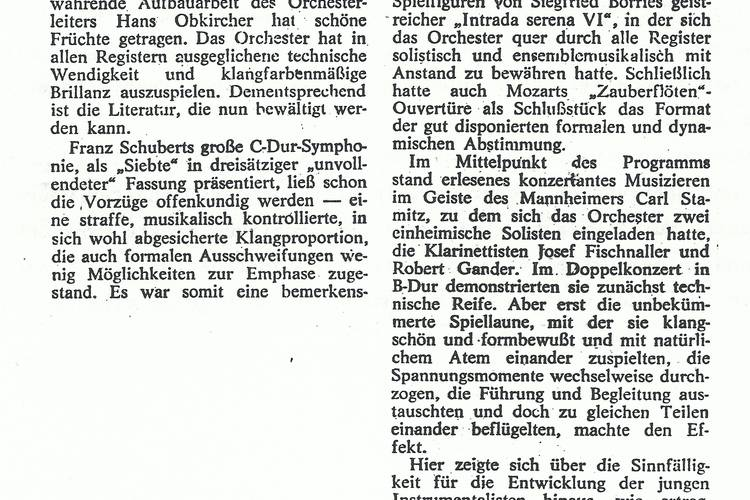 Rezension Dolomiten 28.12.1981